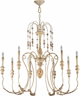 Cyan 04638 Maison Traditional Persian White Lighting Chandelier