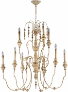 Cyan 04639 Maison Traditional Persian White Chandelier Lamp