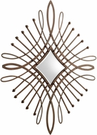 Cyan 05048 Bloem Contemporary Byzantine Oxide Wall Mounted Mirror