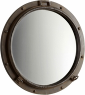 Cyan 05081 Porto Nautical Rustic Bronze Mirror