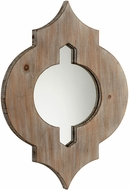 Cyan 05103 Turk Washed Oak Wall Mounted Mirror