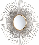 Cyan 05538 Pixley Contemporary Antiqued Silver Leaf Mirror