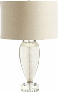 Cyan 05563-1 Hatie Contemporary Gold - Amber L.E.D. Side Table Lamp