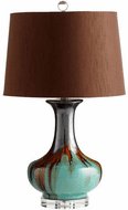 Cyan 05575-1 Hyde Blue and Cyan LED Side Table Lamp