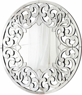 Cyan 05707 Jules Contemporary Clear Wall Mounted Mirror