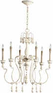 Cyan 05713 Chantal Traditional Parisian Blue Chandelier Light