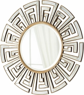 Cyan 05941 Cleopatra Modern Clear and Gold Mirror