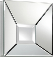 Cyan 06382 Pentallica Contemporary Clear Wall Mounted Mirror