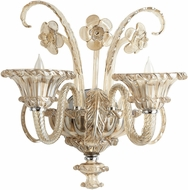 Cyan 06443 La Scala Traditional Chrome Wall Light Sconce