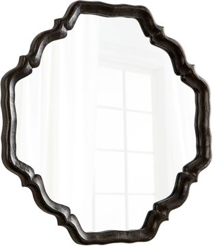 Cyan 08230 Outline Antique Brown Wall Mirror