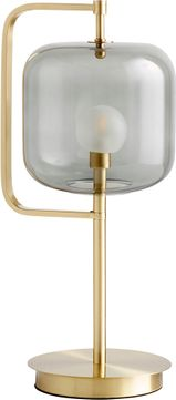 Cyan 10553 Isotope Contemporary Aged Brass L.E.D. Table Lamp