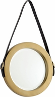 Cyan 10715 Venster Contemporary Antique Brass Wall Mirror