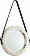 Cyan 10716 Venster Contemporary Nickel Wall Mounted Mirror