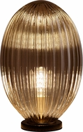 Cyan 10793-1 Maxima Contemporary Aged Brass L.E.D. Accent Lighting Table Lamp