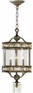 Cyan 6490-3-33 Buckingham Traditional St. Regis Bronze 12  Foyer Lighting