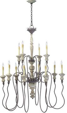 Cyan 6513-12-43 Provence Carriage House 39 Chandelier Lighting