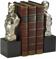 Cyan Design 01895 Hercules Nickel Bookends