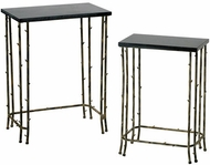 Cyan Design 02045 Bamboo Craftsman Distressed Bamboo Table