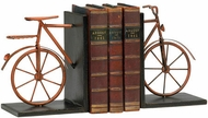 Cyan Design 02796 Bicycle Muted Rust Bookends
