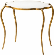 Cyan Design 03039 Flora Gold/White Table
