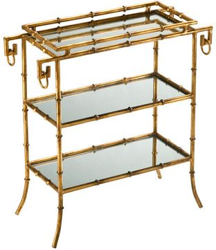Cyan Design 04208 Bamboo Mission Gold Table