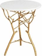 Cyan Design 05116 Langley Modern Gold Leaf Table