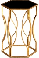 Cyan Design 05516 Anson Modern Gold Leaf Table