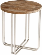 Cyan Design 06560 Montrose Modern Black Forest Grove and Chrome Table