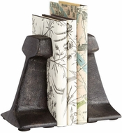 Cyan Design 07230 Smithy Zinc Bookends