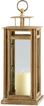 Cyan Design 07240 Tower Ancient Gold 27 Candle Holder
