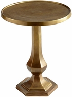 Cyan Design 08226 Old Sport Traditional Brushed Brass Table