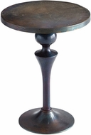 Cyan Design 08297 Gully Bronze and Blue 18  Table