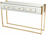 Cyan Design 08728 St. Clair Contemporary Aged Brass Table