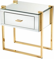 Cyan Design 08729 St. Clair Contemporary Aged Brass Table