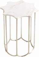 Cyan Design 08823 Stardust Contemporary Antique Silver Finish Table