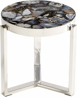 Cyan Design 08985 Geodance Contemporary Nickel Table