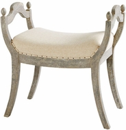 Cyan Design 09600 Alice Traditional Weathered Grey 25  Stool