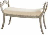 Cyan Design 09601 Alice Traditional Weathered Grey 40  Stool