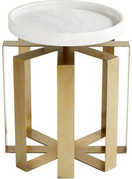 Cyan Design 10053 Canterbury Contemporary Aged Brass Table