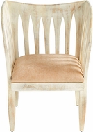 Cyan Design 10161 Chelsea Whitewashed Chair
