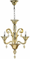 Cyan Design 6493-3-14 Treviso Traditional Chrome Mini Chandelier Lighting