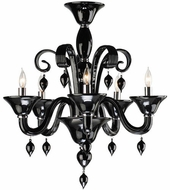 Cyan Design 6494-5-14 Treviso Chrome 24  Chandelier Lamp