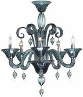 Cyan Design 6495-5-14 Treviso Chrome 24  Ceiling Chandelier