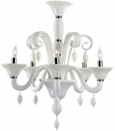 Cyan Design 6496-5-14 Treviso Chrome 24  Lighting Chandelier