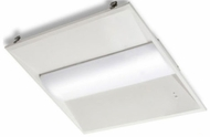 Cyber Tech CL3SID22-CCT Contemporary White LED Ceiling Light Fixture Troffer