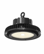 Cyber Tech HL-100UFO-850 Contemporary Black LED UFO Highbay Black Ceiling Light