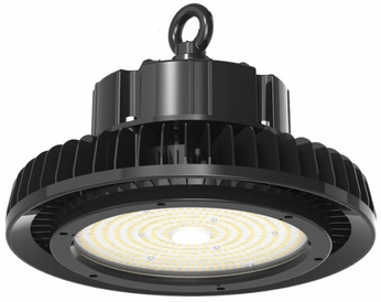Cyber Tech HL-240UFO-850 Contemporary Black LED UFO Highbay Black Ceiling Lamp