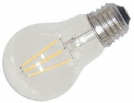 Cyber Tech LB4CA-WW 4 Watt LED Clear A17 Bulb Filament