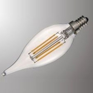 Cyber Tech LB60FFCN-D-WW-2PK LED Filament Bulbs (pack of 2)
