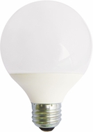 Cyber Tech LB6G25-D-WW 6 Watt LED G25 Globe Dimmable Bulb